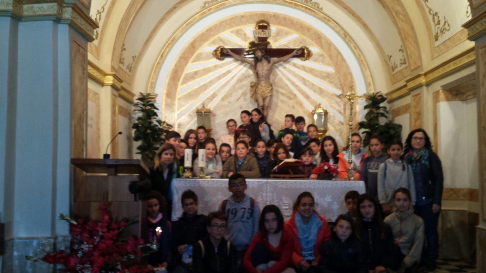 (2017-03-31) - Visita ermita alumnos Yolada-Pilar, Virrey Poveda-9 de Octubre - Maria Isabel Berenquer Brotons (03)