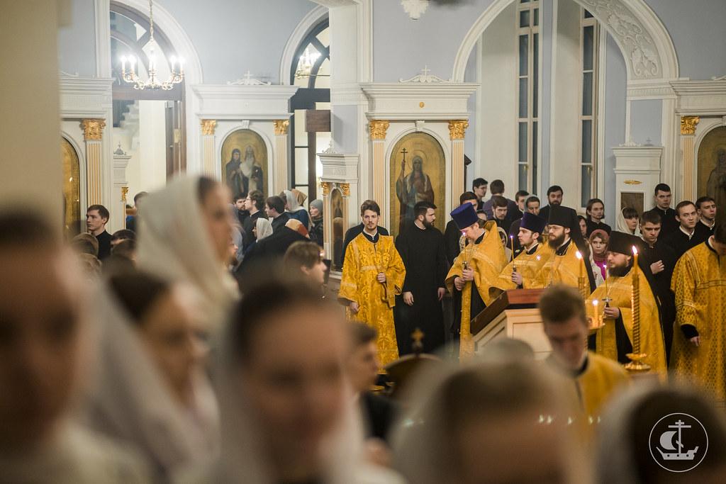 25 февраля 2017, Всенощное накануне Прощеного воскресенья / 13 March 2016, Vigil on the eve of the Shrove Sunday