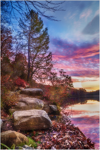 autumn color sunset season nature scenics harrimanpark city landscape beautyinnature weather water clouds everypixel trees rockobject plants colors tree river forest tranquilscene reflection outdoors sunlight lake 2016 sky mountain southfields newyork unitedstates us