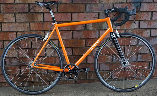 <p>Gunnar Street Dog in Monarch Orange - Perfect for road fixed gear or single speed riding.  Sweet, simple, super!</p>