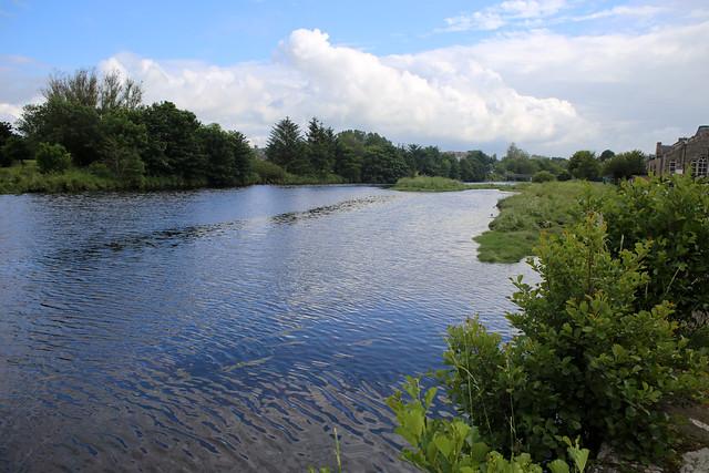 The River Nairn at Nairn