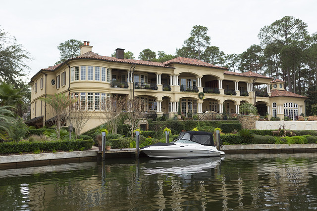 Huge house, Small Boat