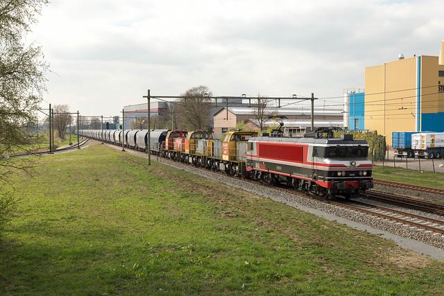 CT 1618 + DB Cargo Polska 6493-6404-6402 + Graantrein + 6 Samms