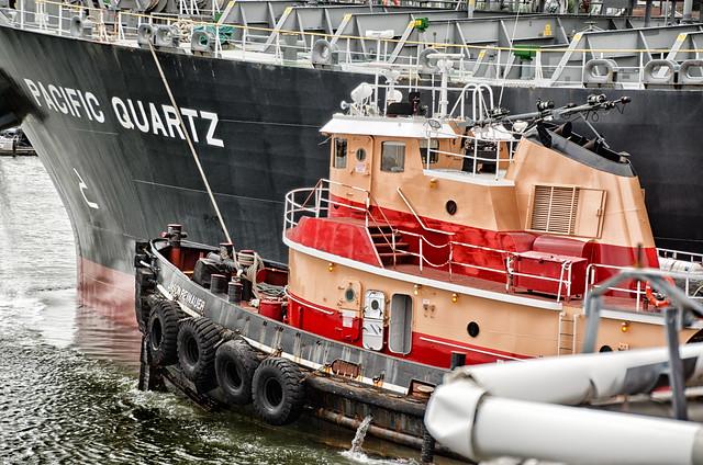 Tug and Tanker--Chelsea, MA