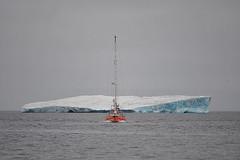Sergey Murzaev - Sailboat and Ice flake