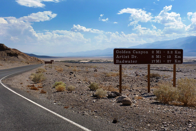 Badwater Road - Death Valley National Park, California