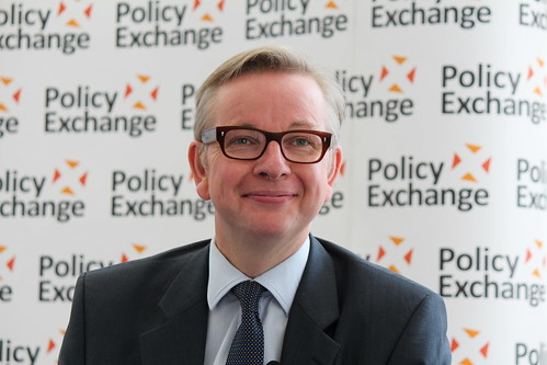 Michael Gove at Policy Exchange delivering his keynote speech 'The Importance of Teaching' | by Policy Exchange