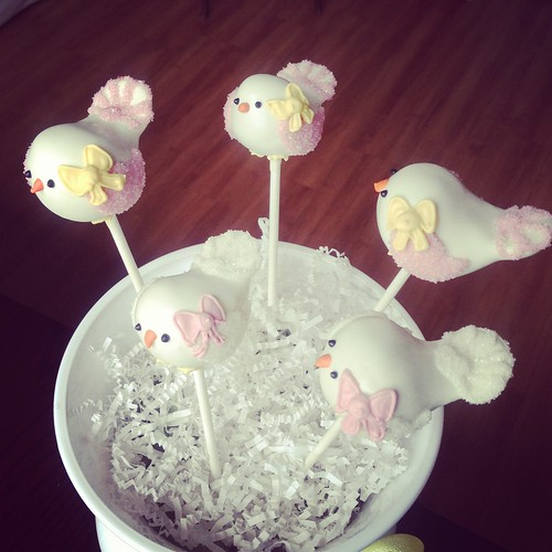 Pretty Birdie Cake Pops | by Sweet Lauren Cakes