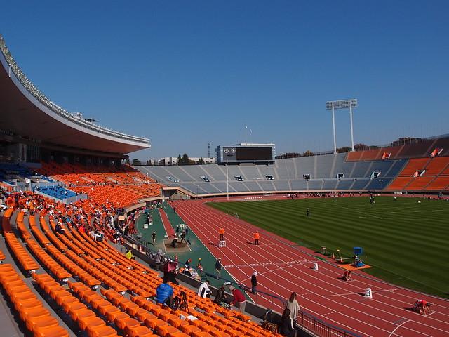 Track & Field Competition @ National Olympic Stadium @ Sendagaya