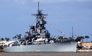 USS Missouri. Pearl Harbour.   by Bernard Spragg