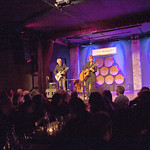 Fri, 28/03/2014 - 8:51pm - Suzanne Vega (with guitarist Gerry Leonard) for an audience of WFUV Marquee Members at City Winery in NYC, 3-28-14. Hosted by Rita Houston. Photo by Laura Fedele