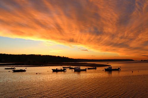 sunset ny newyork water canon boat suffolk huntington longisland coldspringharbor canon70d
