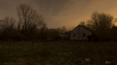 36599 365 99 april92017 aprl sun sunday 4917 palm night long exposure panorama dark darkness light abandoned hunterdon county nj new jersey