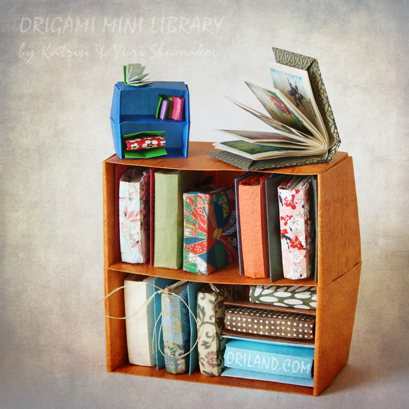 Origami Book Blizzard Style Tutorial · How To Make A Bound Book ... | 800x800