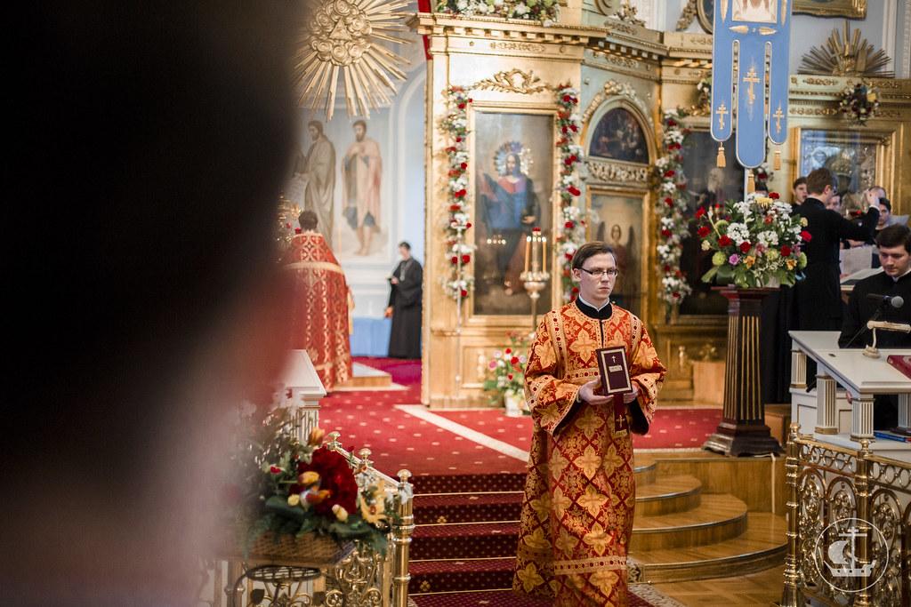 29 Апреля 2017, Всенощное бдение накануне Недели 3-й по Пасхе, святых жен-мироносиц / 29 April 2017, Vigil. 3rd Sunday of Pascha. Sunday of the Myrrh-bearing Women