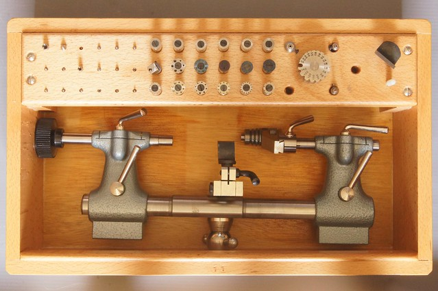 Steiner Watchmakers lathe or Turns