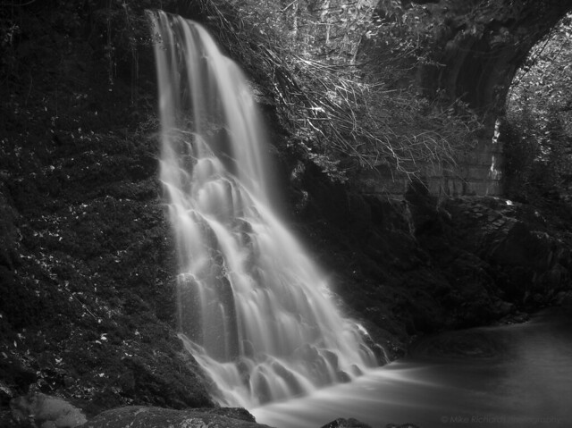 Stowford Waterfall