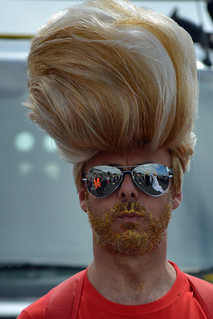 Big Haired Beckham, Brighton Pride 2013 | by vic_burton