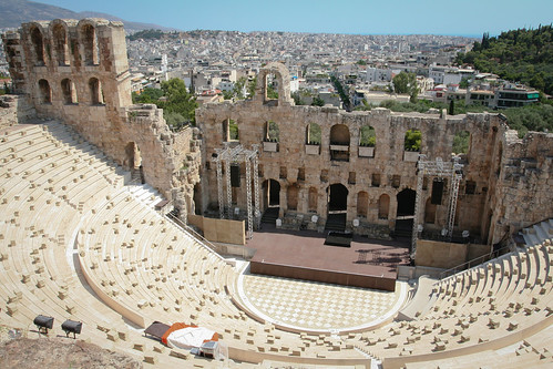 Odeon of Herodes Atticus, Athens | by Sharon Mollerus