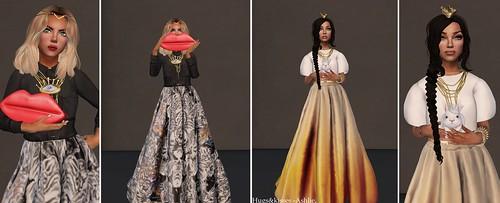 Avenue Fashion Week Trending - Ball gown Like Skirts.