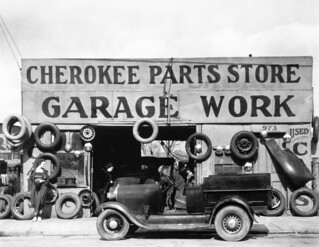 Evans 1936 Garage Atanta Georgia