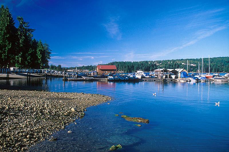 Sechelt Inlets Marine Park, Sechelt, Sechelt Peninsula, Sunshine Coast, British Columbia, Canada