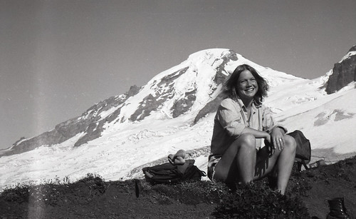 Julie at Mt. Baker Meadows, 1979 | by Philip Hall Photography