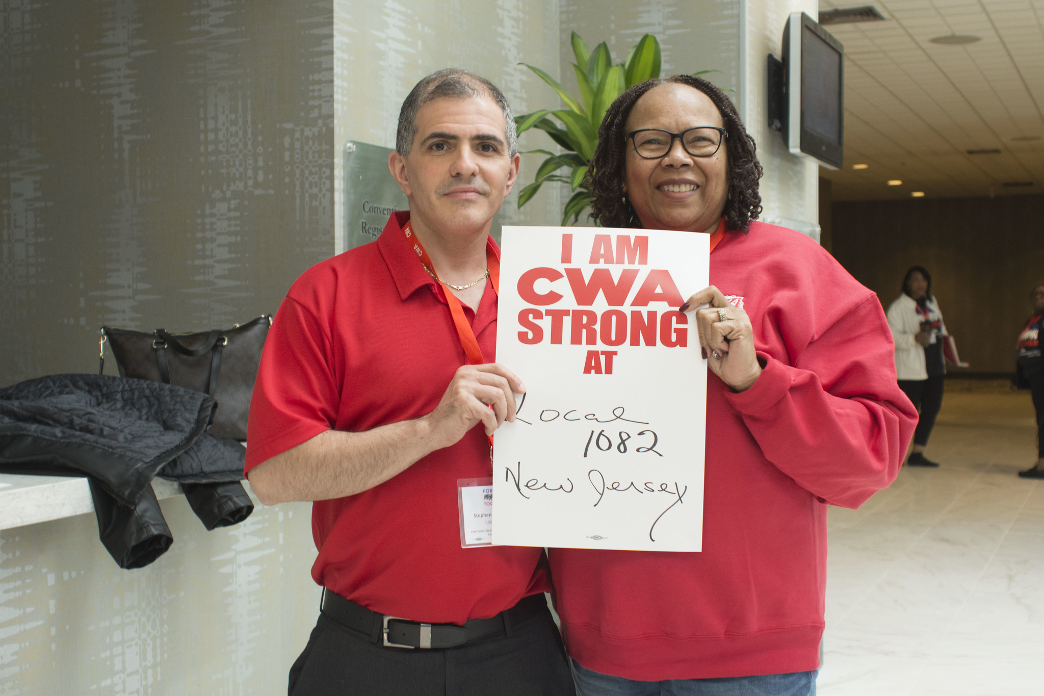 CWA STRONG at Public, Healthcare & Education Workers Conference