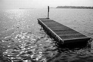 A floating pier [Explore 2017.04.26]