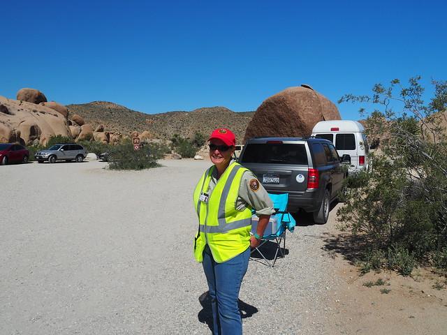 Q3256575 Joshua Tree National Park Split rock area volunteer
