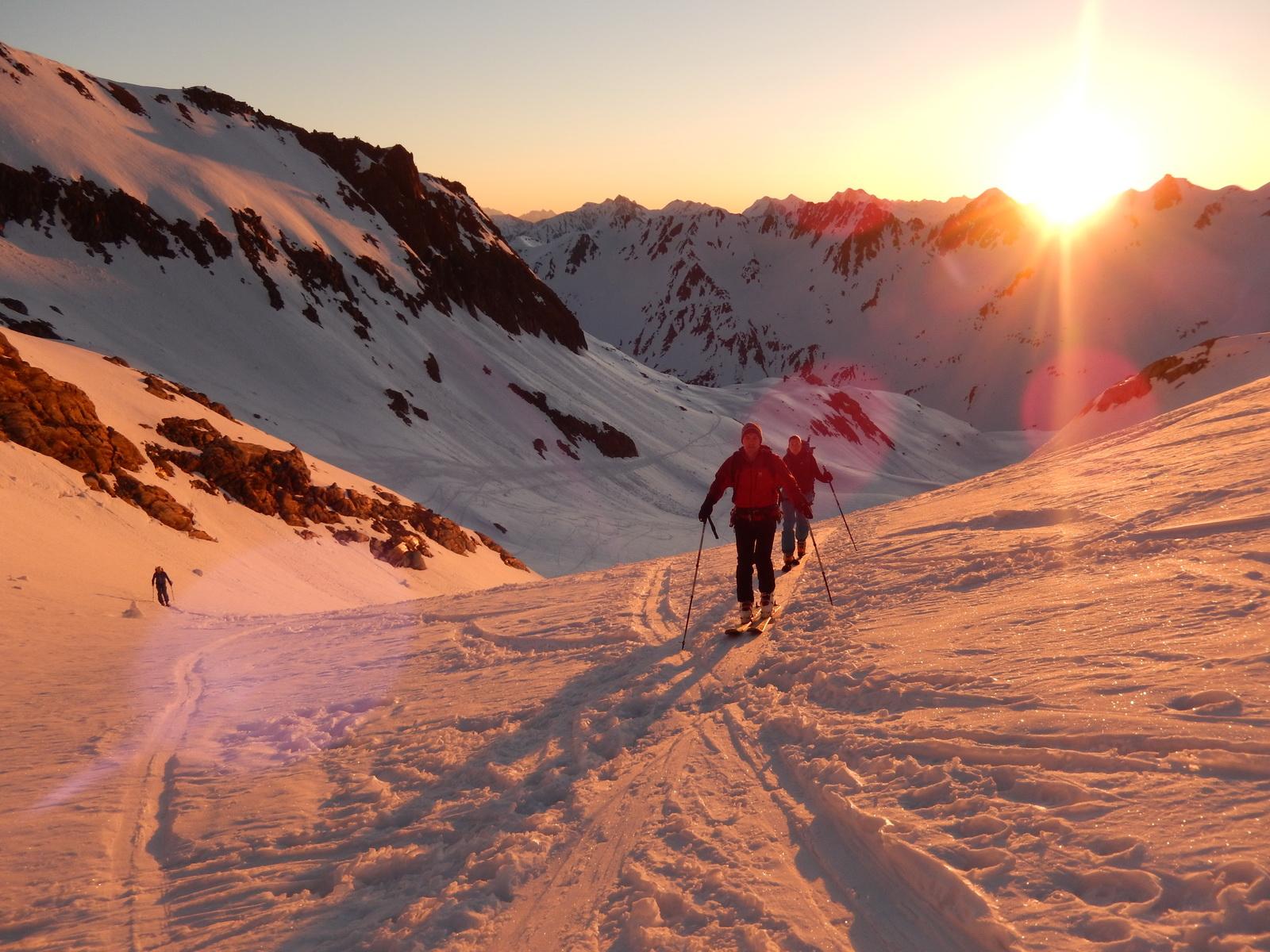 Skitour Gross Muttenhorn 08./09.04.2017