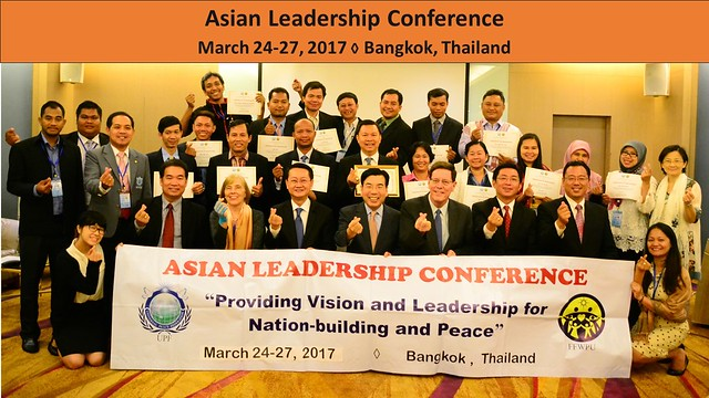 Thailand-2017-03-27-Conference in Bangkok on Leadership, Nation-building, and Peace