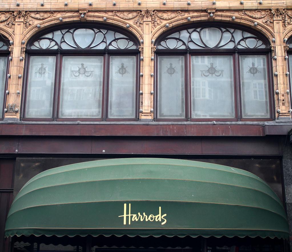 Harrods luxury department store