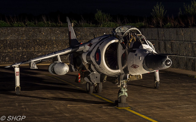 TLE RAF Cosford Jaguar and Harrier Photoshoot