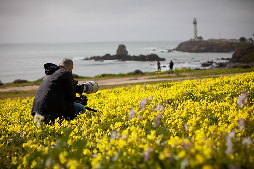 Manfrotto Be Free Tripod ad shoot BTS - California Coast   by The Bui Brothers