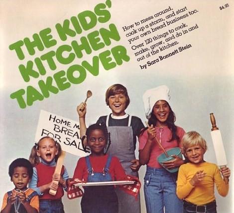 The Kids Kitchen Takeover By Sara Bonnett Stein Front Cov Flickr