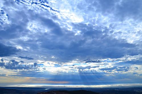 california art clouds catholic sandiego christian pacificocean rays raysoflight scriptureart worksofthelord doublepeakpark art4theglryofgod