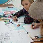 Manga Drawing Workshop - Brighton Japan Festival and Matsuri ブライ卜ン曰本フェステイバル祭