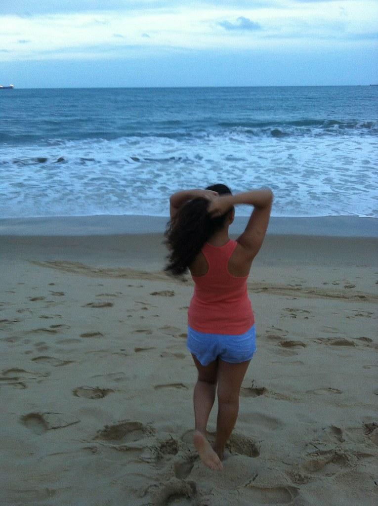 beach, eu vou