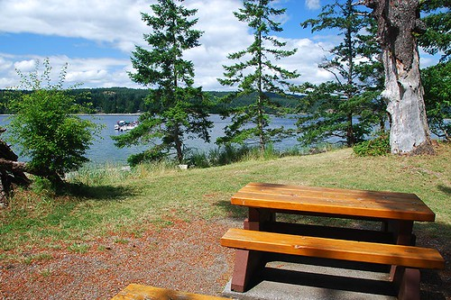 Drew Harbour, Rebecca Spit Park, Quadra Island, Discovery Islands, British Columbia, Canada