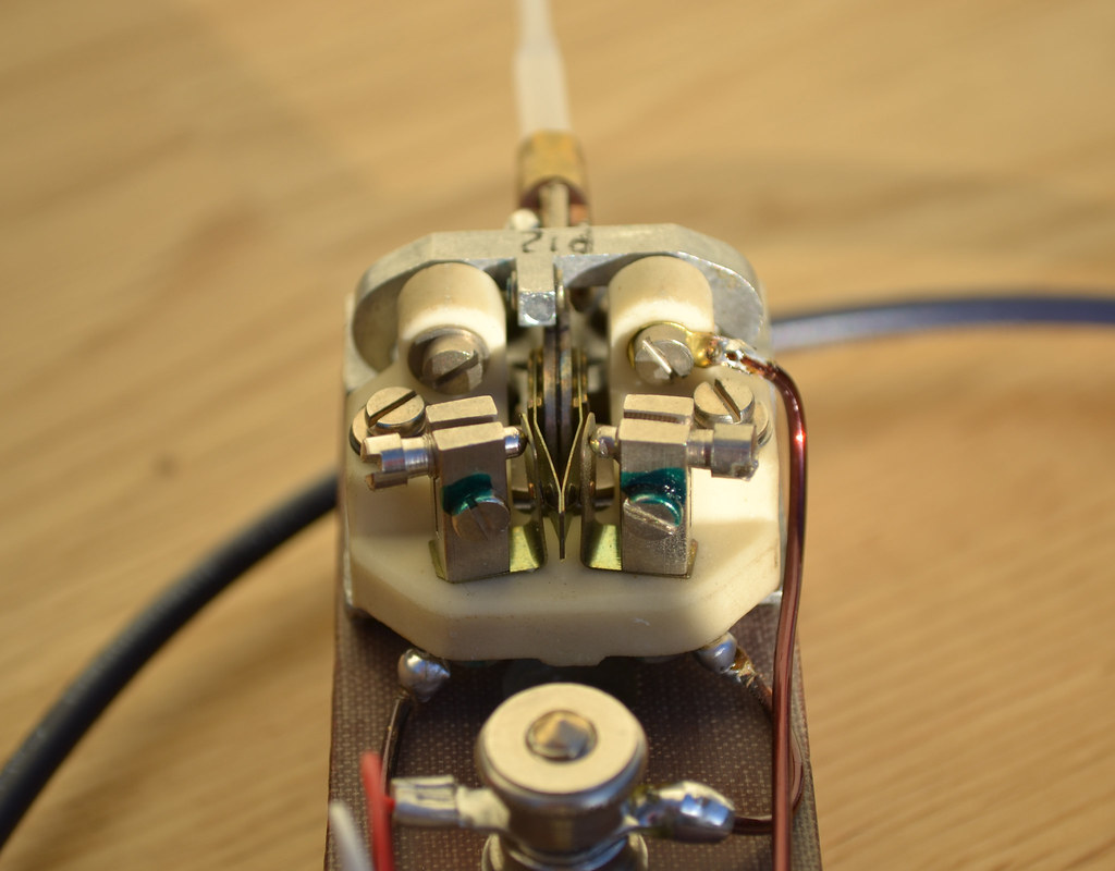 Pleasing 2W0Daa Home Brew Cw Morse Code Paddle Key This Is A Shot O Flickr Wiring Database Lukepterrageneticorg