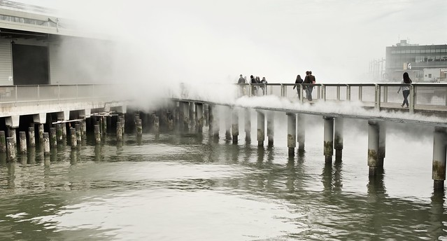 Fog bridge - Exploratorium, San Francisco