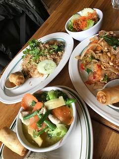 Drunken Noodle, Green Curry, Khao Phat | by lulun & kame