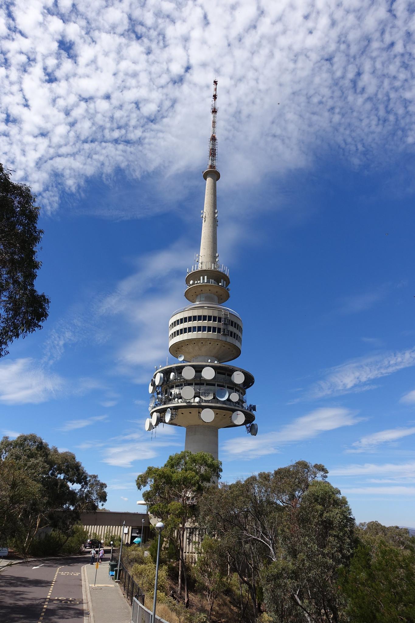 The Telstra Tower Black Mountain Campervan Finder