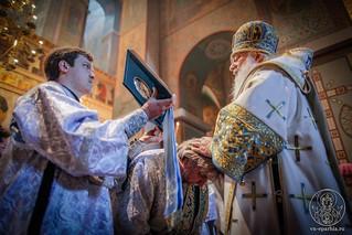 Литургия в Софийском соборе 207