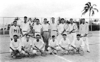 Tennis players in Coral Gables, Florida