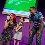 Carrie and David Grant | A bit of audience participation with Carrie and David Grant.