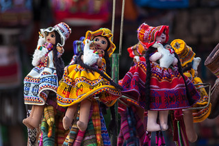 Peru - Sacred Valley - Ollantaytambo Food and Souvenir Market | by World-wide-gifts.com