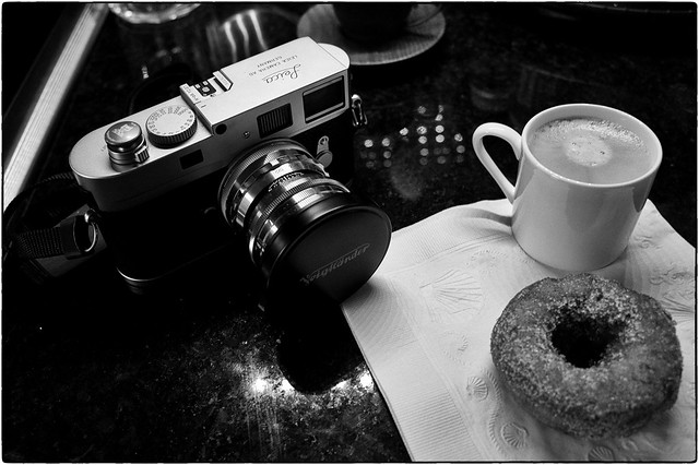 Coffee, Camera, Donut, October 22, 2103