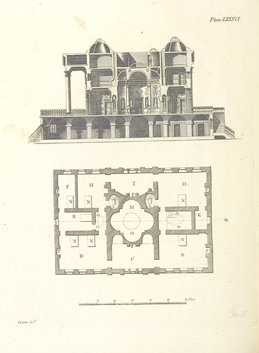 Image taken from page 330 of 'The New Builder's Magazine, and Complete Architectural Library, for architects, surveyors, carpenters, etc'   by The British Library